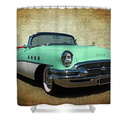 1955 Shower Curtain
