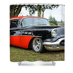 1956 Buick Riviera Shower Curtain