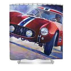 1956 Ferrari 250 Gt Berlinetta Tour De France Shower Curtain