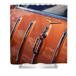 1957 Chevrolet Nomad Shower Curtain by Gordon Dean II