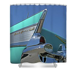 1957 Chevy Shower Curtain