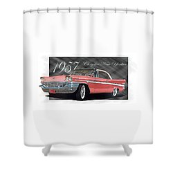 1957 Chrysler New Yorker Shower Curtain