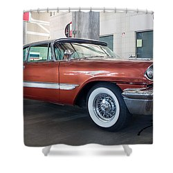 1957 Desoto Shower Curtain