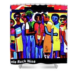 1957 Little Rock Nine Shower Curtain
