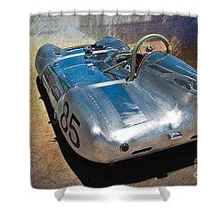 1957 Lotus Eleven Le Mans Shower Curtain