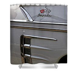 1958 Chevrolet Impala Shower Curtain by Gordon Dean II