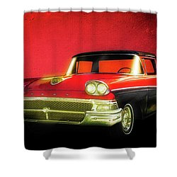 1958 Ford Ranchero 1st Generation Shower Curtain