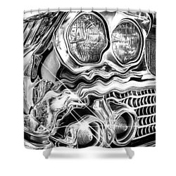 1958 Impala Beauty Within The Beast Shower Curtain by Peter Piatt