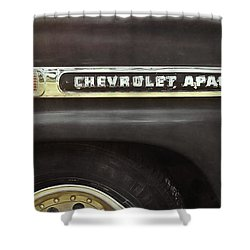 1959 Chevy Apache Shower Curtain
