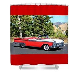 1959 Ford Fairlane 500 Shower Curtain
