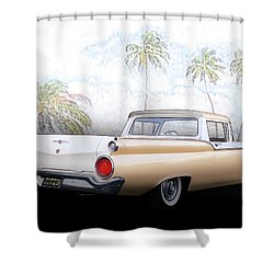 1959 Ford Ranchero 1st Generation Shower Curtain