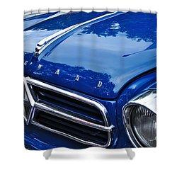 1960 Borgward Isabella Coupe Shower Curtain by Kaye Menner