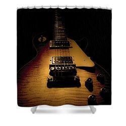 1960 Reissue Guitar Spotlight Series Shower Curtain