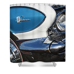 Shower Curtain featuring the photograph 1961 Buick Le Sabre by Dennis Hedberg