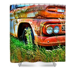 1961 Chevrolet Apache 10 5 Shower Curtain