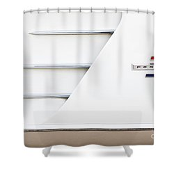 Shower Curtain featuring the photograph 1961 Cove by Dennis Hedberg