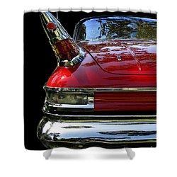 1961 Desoto Shower Curtain by Peter Piatt