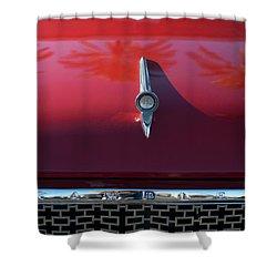 1961 Rambler Hood Ornament 2 Shower Curtain by Jill Reger