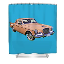 1961 Studebaker Hawk Coupe Shower Curtain
