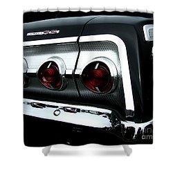 1962 Chevrolet Impala Tail Shower Curtain by Peter Piatt