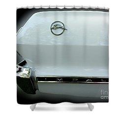 1963 Chevy Impala Shower Curtain by Peter Piatt
