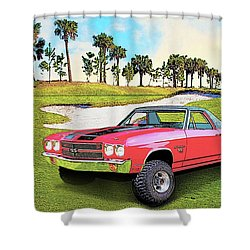 1970 Chevy El Camino 4x4 Not 2nd Generation 1964-1967 Shower Curtain