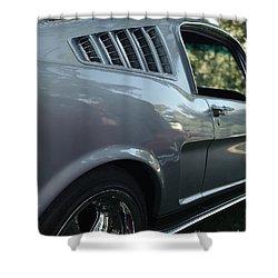 1965 Ford Mustang Shower Curtain by Peter Piatt