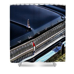 1965 Plymouth Satellite 440 Shower Curtain by Gordon Dean II