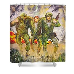1965 Viet Nam Shower Curtain