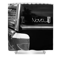 1966 Chevy Nova II Shower Curtain
