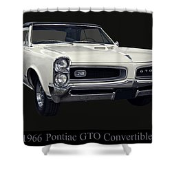 1966 Pontiac Gto Convertible Shower Curtain