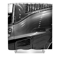 1967 Ford Mustang Fastback Shower Curtain by Gordon Dean II