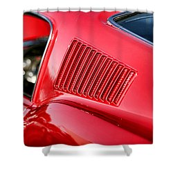 1967 Ford Mustang Gt  Shower Curtain by Gordon Dean II