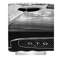 1967 Pontiac Gto Shower Curtain by Gordon Dean II