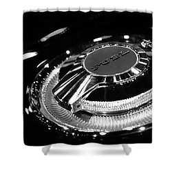 1968 Dodge Charger Fuel Cap Shower Curtain