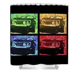 1968 Firebird Pop Quad Shower Curtain