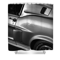 1968 Ford Mustang Shelby Gt 350 Shower Curtain by Gordon Dean II