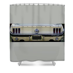 1968 Mustang Gt Fastback Shower Curtain