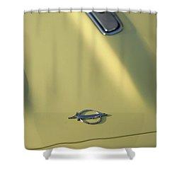 1968 Plymouth Barracuda Shower Curtain by Gordon Dean II
