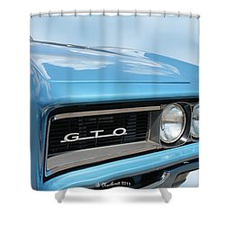 1968 Pontiac Gto Shower Curtain