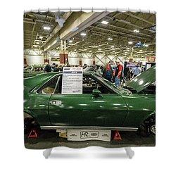Shower Curtain featuring the photograph 1969 Amc Amx by Randy Scherkenbach