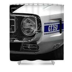 1969 Ford Mustang Shelby Gt350 1970 Shower Curtain