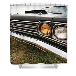 1969 Plymouth Road Runner 440-6 Shower Curtain by Gordon Dean II