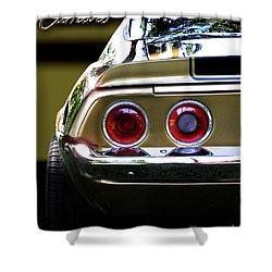 1970 Camaro Fat Ass Shower Curtain by Peter Piatt