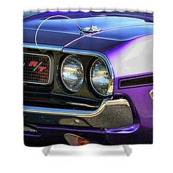 1970 Dodge Challenger Rt 440 Magnum Shower Curtain