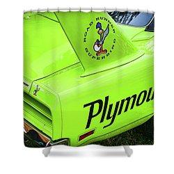 1970 Plymouth Superbird Shower Curtain by Gordon Dean II