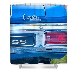 1970 Tailights Shower Curtain