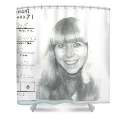 1971 Shower Curtain
