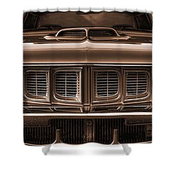 1971 Plymouth 'cuda 440 Shower Curtain