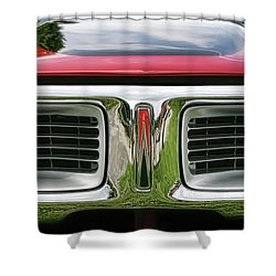 1972 Dodge Charger 400 Magnum Shower Curtain by Gordon Dean II